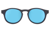 Babiators Blue Series Keyhole The Agent Black Frames with Blue Lenses Polarised Sunglasses
