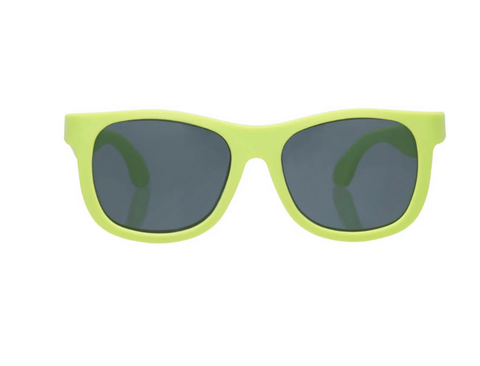 Babiators Navigator Sunglasses in Sublime Lime (Suitable from Birth until 5 years old)
