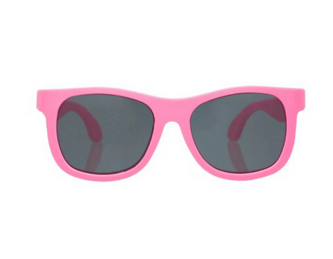 Babiators Navigator Sunglasses in Think Pink! (Suitable from Birth until 5 years old)