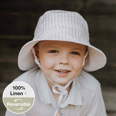 Bedhead Hat Reversible Sun Hat UPF50+ - Finley & Blanc (Heritage Collection)