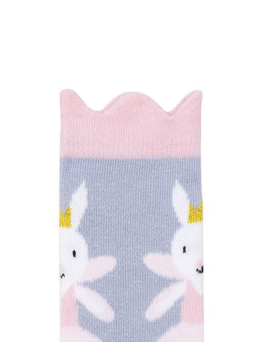 Billy Loves Audrey Midi Fairy Bunny Socks