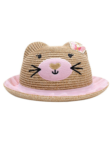 Billy Loves Audrey Springtime Cat Hat with Pink Tulle