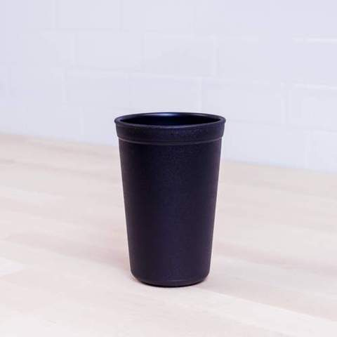 Re-Play Recycled Plastic Tumbler (Cup) in Black - 325ml