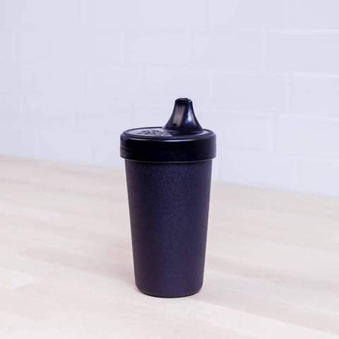 Re-Play Recycled Plastic Sippy Cup in Black - 296ml
