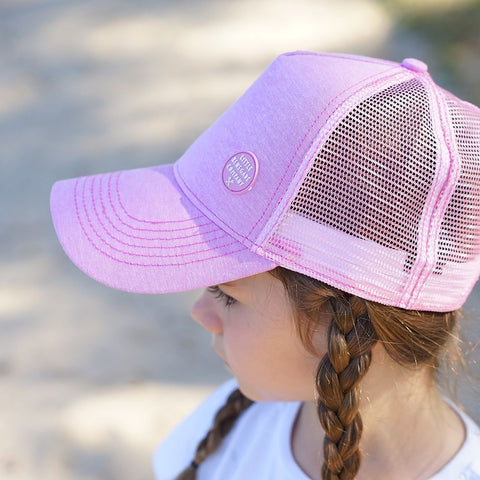 Little Renegade Company Blush Pink Trucker Cap