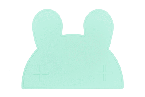 We Might be Tiny Bunny Placie - Minty Green