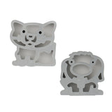 Lunch Punch Pairs Sandwich Cutter - The Paws Cats & Dogs Edition
