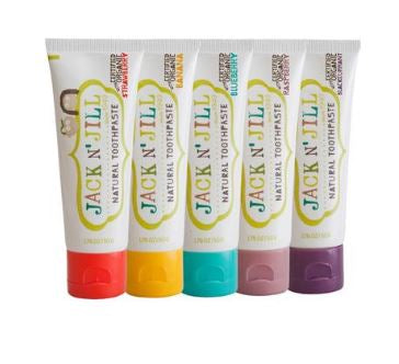 Jack N' Jill all Natural Toothpaste 50g