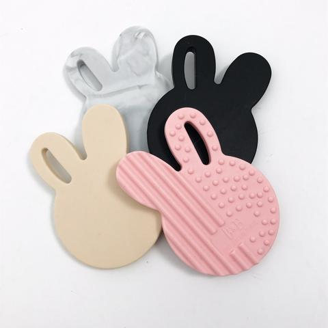 One.Chew.Three Bunny Silicone Teether