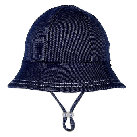 16dfa16233206 ... Bedhead Hat Denim Baby Bucket UPF50+ Sunhat with Chin Strap (Core  Range) ...