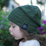 Little Renegade Company Everest Beanie in Olive Green (Available in Size 4-18 Months)