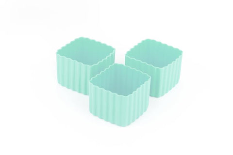 Little Lunchbox Co Bento Cups - Mint Squares
