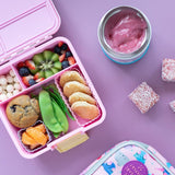 Little Lunchbox Co Bento Cups - Lilac Purple Squares
