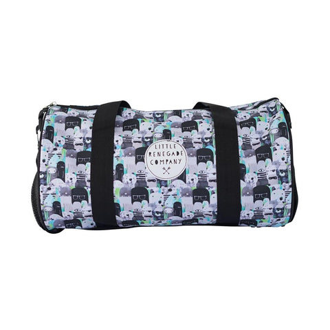 Little Renegade Company Bear & Beasties Duffle Bag