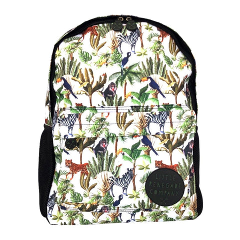 Little Renegade Company Jungle Fever Backpack in Midi Size (Suitable for Primary School Age)