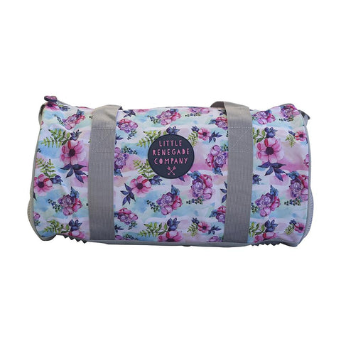 Little Renegade Company Pastel Posies Duffle Bag