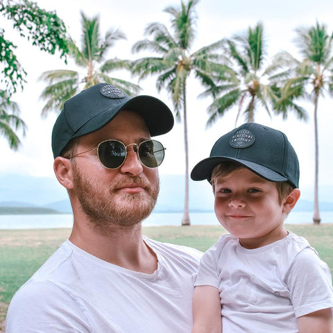 Little Renegade Company Phantom Black Baseball Cap (Suitable from 4 months old)