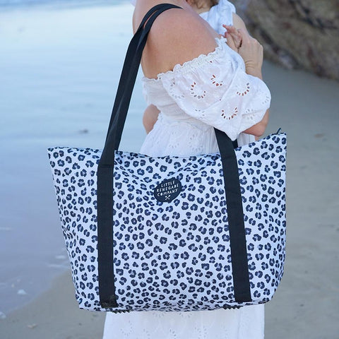 Little Renegade Company Snow Leopard Large Nappy Bag