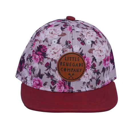 Little Renegade Company Blooming Berry Snapback Cap (Suitable from 4 months old)