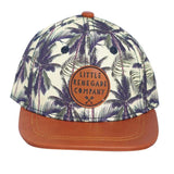 Little Renegade Company Malibu Palms Snapback Cap (Suitable from 4 months old)