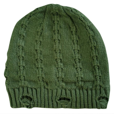 Little Renegade Company Everest Beanie in Olive Green (Suitable from 4 months old)
