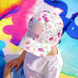 Little Renegade Company Garden Floral Baseball Cap (Suitable from 4 months old)