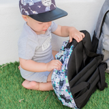 Little Renegade Company Bears & Beasties Backpack in Mini Size (Suitable for Toddler Age)