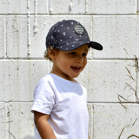 Little Renegade Company Nautical Sea Baseball Cap (Suitable from 4 months old)