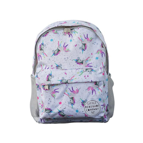 Little Renegade Company Sparkles Unicorn Backpack in Mini Size (Suitable for Toddler Age)