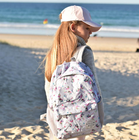 Little Renegade Company Sparkles Unicorn Backpack in Midi Size (Suitable for Primary School Age)