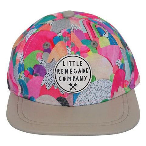 Little Renegade Company Sugar Mountains Snapback Cap (Suitable from 4 months old)