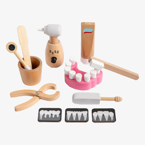 Make me Iconic Wooden Dentist Kit