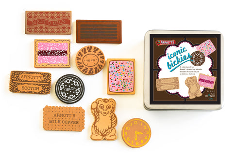 Available mid August - Make me Iconic Bickies (Based on Arnott's Biscuits)
