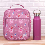 MontiiCo Insulated Lunch Bag with Ice Brick - Fairy Design