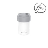 MontiiCo Mini Coffee Cup in White