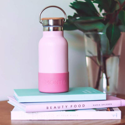 MontiiCo Handbag Hero in Dusty Pink (Mini Drink Bottle)