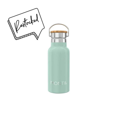 MontiiCo Handbag Hero in Eucalyptus Green (Mini Drink Bottle)
