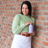 MontiiCo Handbag Hero in Lavender (Mini Drink Bottle)
