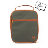 MontiiCo Insulated Lunch Bag with Ice Brick - Moss Green