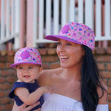 Little Renegade Company Unicorn Friends & Rainbows Snapback Cap (Suitable from 4 months old)