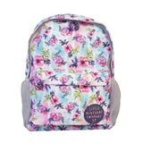 Little Renegade Company Pastel Posies Floral Backpack in Midi Size (Suitable for Primary School Age)