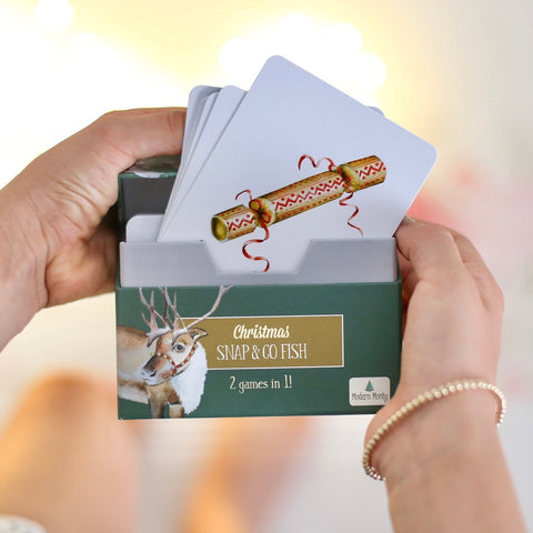 Modern Monty Christmas Snap & Go Fish