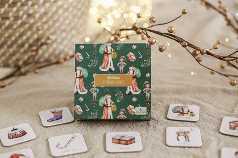 Modern Monty Christmas Memory Card Game