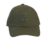 Little Renegade Company Pine Olive Green Baseball Cap (Suitable from 4 months old)