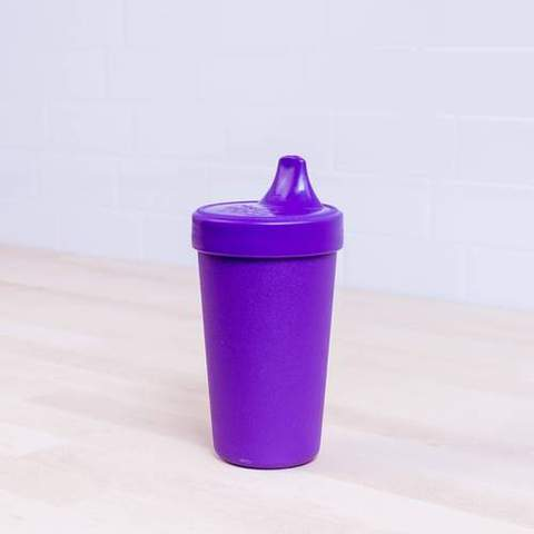 Re-Play Recycled Plastic Sippy Cup in Amethyst (Dark Purple) - 296ml