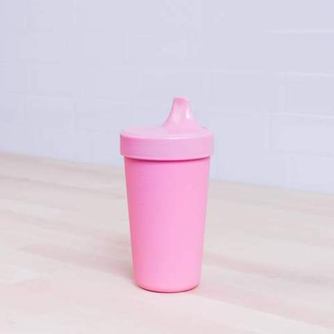 Re-Play Recycled Plastic Sippy Cup in Baby Pink - 296ml