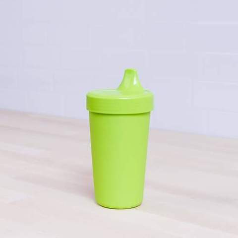 Re-Play Recycled Plastic Sippy Cup in Lime Green - 296ml