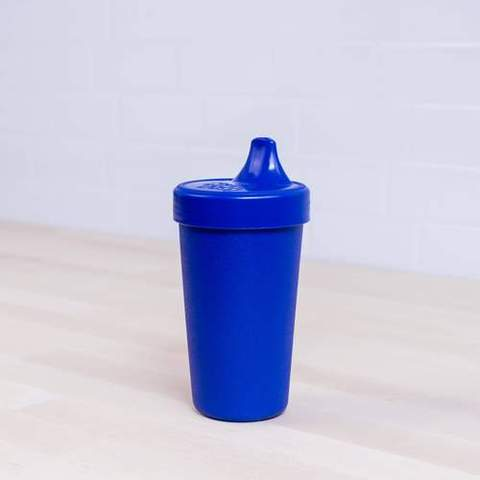 Re-Play Recycled Plastic Sippy Cup in Navy Blue - 296ml
