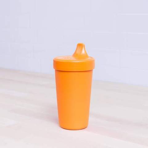Re-Play Recycled Plastic Sippy Cup in Orange - 296ml