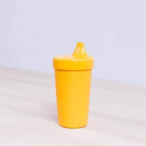 Re-Play Recycled Plastic Sippy Cup in Sunshine Yellow - 296ml